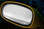 E21641 Trim Rings-Mirror-Side View-Z06 505 HP Logo-Standard or Auto Dim-Pair-06-13