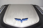 E21711 Cover-Engine Shroud-Flame Etched-Stainless Steel-ZR1-09-13