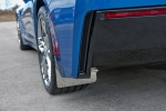 E21809 Mud Guards-Polished-Stainless Steel-W/ Carbon Fiber Backing-4 pieces-14-17