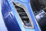 E21835 Vent Grilles-Rear Quarter Vents-Laser Mesh-Stainless Steel-Pair-14-17