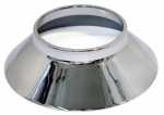 E3317BLEM CONE-ALUMINUM KNOCK OFF WHEEL-CHROME PLATED WITH BEAD AT TOP OF CONE-USA-EA-BLEMISHED-63-65