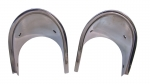 E5763 BEZEL-EXHAUST-STAINLESS STEEL-PAIR-68-69