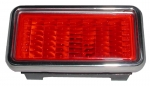 E5851 LAMP ASSEMBLY-REAR SIDE MARKER-RED-USA-EACH-68-69