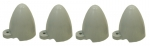 E5859 CONE SET-TAIL LAMP / TAIL LIGHT PROTECTOR-USA-4 PIECES-61-62