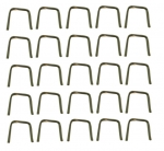 E6184 STAPLE SET-INNER AND OUTER FELTS-ENGINE COMPARTMENT-25 PIECES-56-62