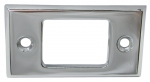 E6213 BEZEL-SEAT BACK RELEASE-CHROME-70-78