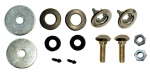 E6277 MOUNTING SET-HARDTOP-REAR-63-67