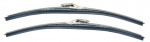E7511 BLADE-WINDSHIELD WIPER-BRUSHED FINISH-PAIR-63-67