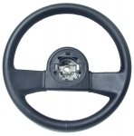E7795 WHEEL-STEERING-BLACK LEATHER-84-89