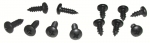 E8002 SCREW SET-WINDSHIELD PILLAR POST WEATHERSTRIP-RETAINER-12 PIECES-68-82
