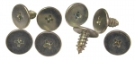E8004 SCREW SET-WINDSHIELD WEATHERSTRIP RETAINER-CONVERTIBLE PILLAR-8 PIECES-63-67