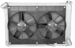 E9046 RADIATOR AND FAN COMBINATION-ALUMINUM-BIG BLOCK-MANUAL-66-68