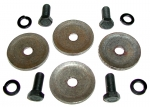E9939 BOLT AND LOCK WASHER SET-UPPER BUSHING RETAINER-4 EACH-63-82