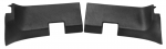 EC138UP PANEL-REAR ROOF INNER-UNPAINTED BLACK GRAINED PLASTIC-COUPE-USA-PAIR-68L