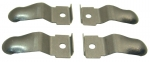 EC254 CLIP SET-RETENTION-FORWARD CONSOLE SIDE TRIM PANEL-USA-4 PIECES-68