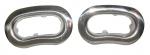 EC753 BEZEL-DOOR PULL-STAINLESS STEEL-PAIR-62-64