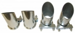 EC788 Exhaust Tips-4 Angle Stainless Steel-84