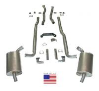 "Corvette NEW Exhaust Heat Riser Gasket for 2-1//2/"" Inch Exhaust 1962-1974"